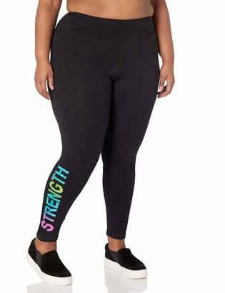 Fruit of the Loom Fit for Me Women's Plus Size Graphic Legging