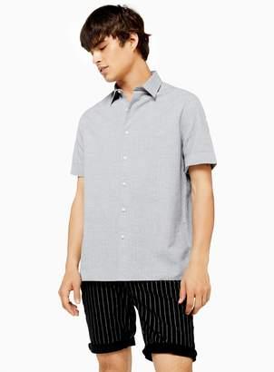 Melange Home TopmanTopman Grey Slim Shirt