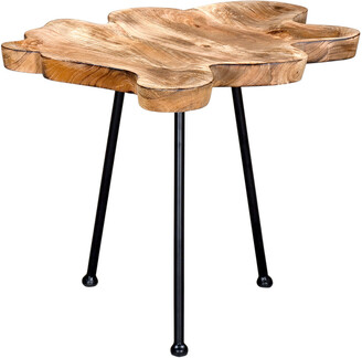 Worldwide Homefurnishings Worldwide Home Pari Accent Table