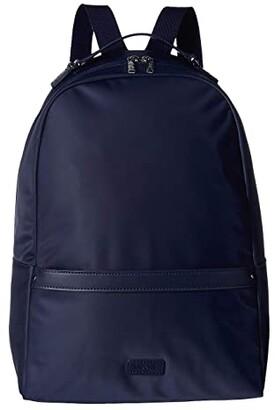 Lipault Paris Lady Plume Medium Backpack (Black) Backpack Bags