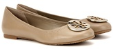 Tory Burch Reva leather ballerinas