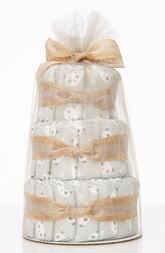 The Honest Company Mini Diaper Cake & Travel-Size Essentials Set