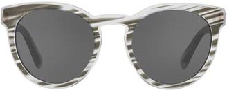 Dolce & Gabbana Eyewear Round Cat Eye Frame Sunglasses