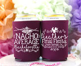 Etsy Bachelorette Party Can Coolers, Nacho Average Bachelorette, Fiesta Bachelorette, Mexico Bridesmaid C