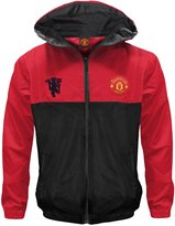 Manchester United F.C. Manchester United FC Official Gift Boys Shower Jacket Windbreaker 8-9 Yrs MB