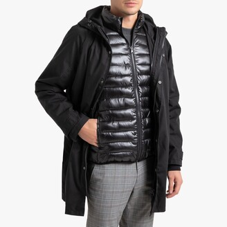 La Redoute Collections 3-in-1 Hooded Parka with Detatchable Jacket and Pockets