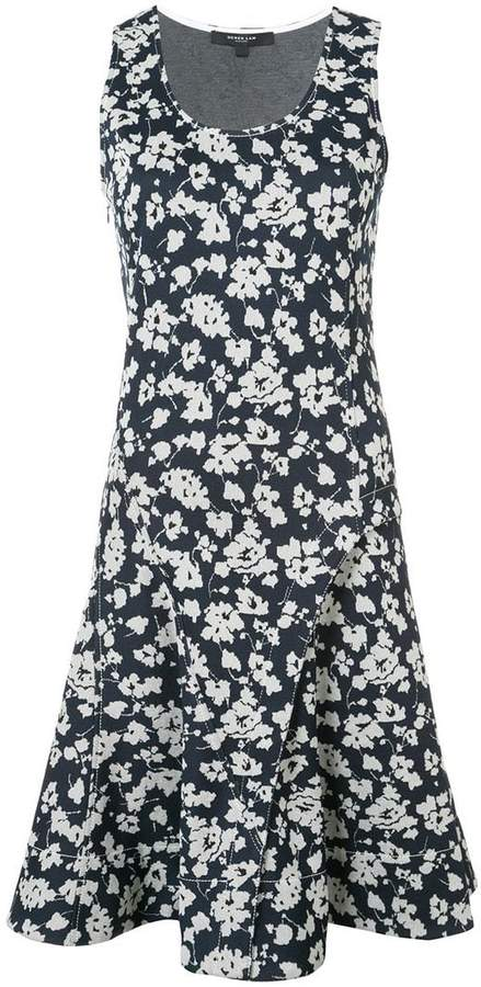 Derek Lam Sleeveless Short Fit And Flare Dress