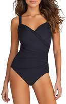 Miraclesuit 6513063 Women's Must Haves Sanibel Underwired Swimsuit