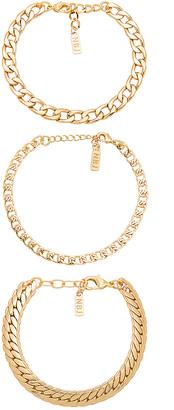 Natalie B Tre Catena Bracelet