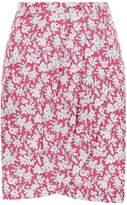 Claudie Pierlot Floral Printed Mini Skirt