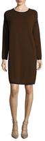 Max Mara Nuvola Wool Shift Dress