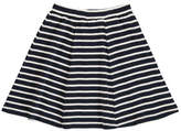 Mads Norgaard Swirlina Striped Skirt