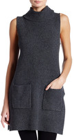 Vince Camuto Sleeveless Turtleneck Sweater