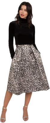 Black Halo Sanibel Cocktail Skirt