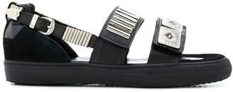 Toga Virilis touch-strap sandals
