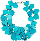 Nest Turquoise Chunky Necklace