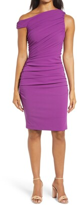 Mark + James by Badgley Mischka Ruched Body Con Dress