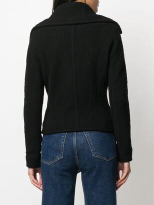 John Galliano Pre-Owned 1990s Boucle Yarn Jacket