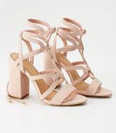 LOFT Lace Up Heels