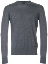 Emporio Armani crew-neck jumper - men - Wool - S