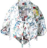Antonio Marras floral print kimono - women - Cotton/Polyurethane - 40