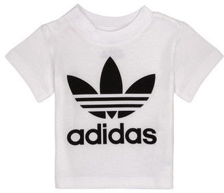 adidas MAELYS girls's T shirt in White