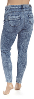 Light Snow Wash Skinny Jeans - Plus