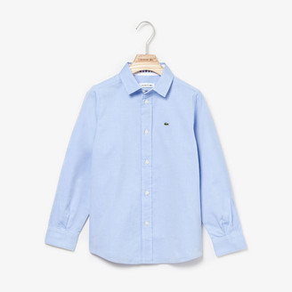Lacoste Boys Button-Down Oxford Shirt