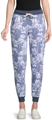 Sol Angeles Printed Cotton-Blend Jogger Pants
