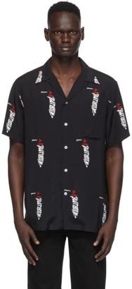 Wacko Maria Black and White Sublime Edition Hawaiian Shirt