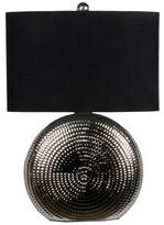 Privilege Hammered Ceramic Table Lamp