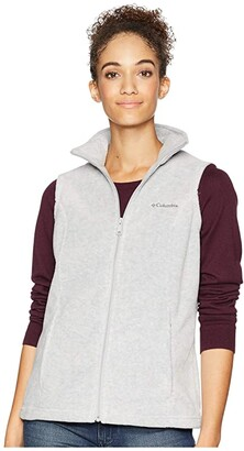 Columbia Benton Springstm Vest (Cirrus Grey Heather/Grill) Women's Vest