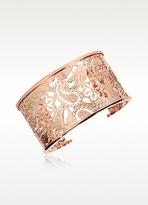 Rebecca Cashmere - Rose Gold Cuff Bracelet