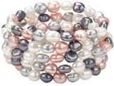 Honora Style Multi Tone Pearl Bracelet Set 5