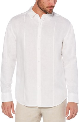 Cubavera Men's Classic-Fit Linen Button-Down Shirt