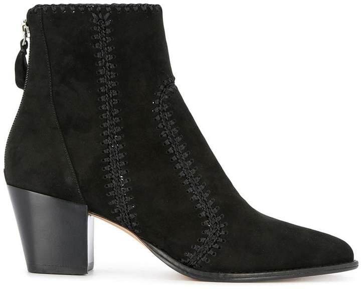 Alexandre Birman chunky heel boots