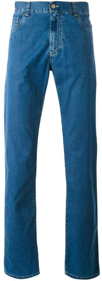 Canali regular-fit jeans