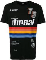 Diesel logo print T-shirt - men - Cotton - M