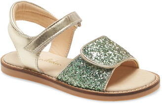 Boden Strappy Glitter Sandal