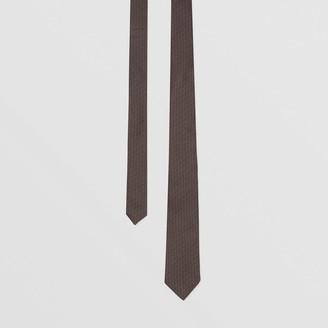 Burberry Classic Cut Monogram Silk Jacquard Tie