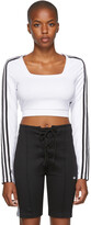 Thumbnail for your product : adidas White Adicolor Classics Long Sleeve T-Shirt