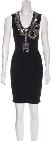 Givenchy Embellished Bodycon Dress w/ Tags