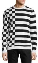HUGO BOSS Printed Cotton Sweatshirt