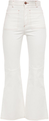 See by Chloe High-rise Kick-flare Jeans