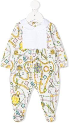 Versace Chain-Print Pajamas