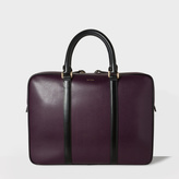 Paul Smith Men's Damson 'City Embossed' Leather Business Folio