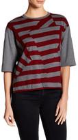 DKNY Elbow Sleeve Cropped Shirt