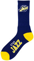 For Bare Feet Utah Jazz Deuce Crew 504 Socks