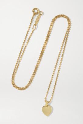 Jennifer Meyer Heart 18-karat Gold Necklace