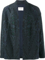 Etro printed kimono jacket - men - Silk/Cotton/Polyamide/Wool - 46